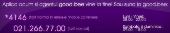 numar de telefon good.bee