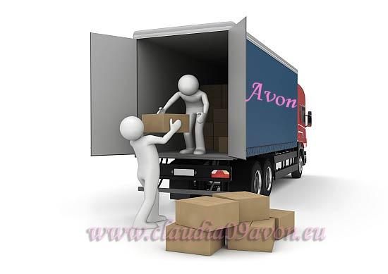Livrare produse Avon